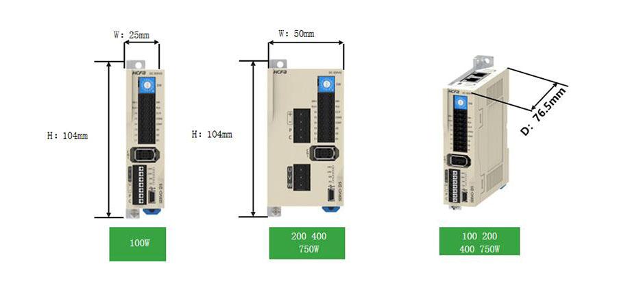 禾川伺服驱动器D3E系列,低压伺服驱动器,通用单机型
